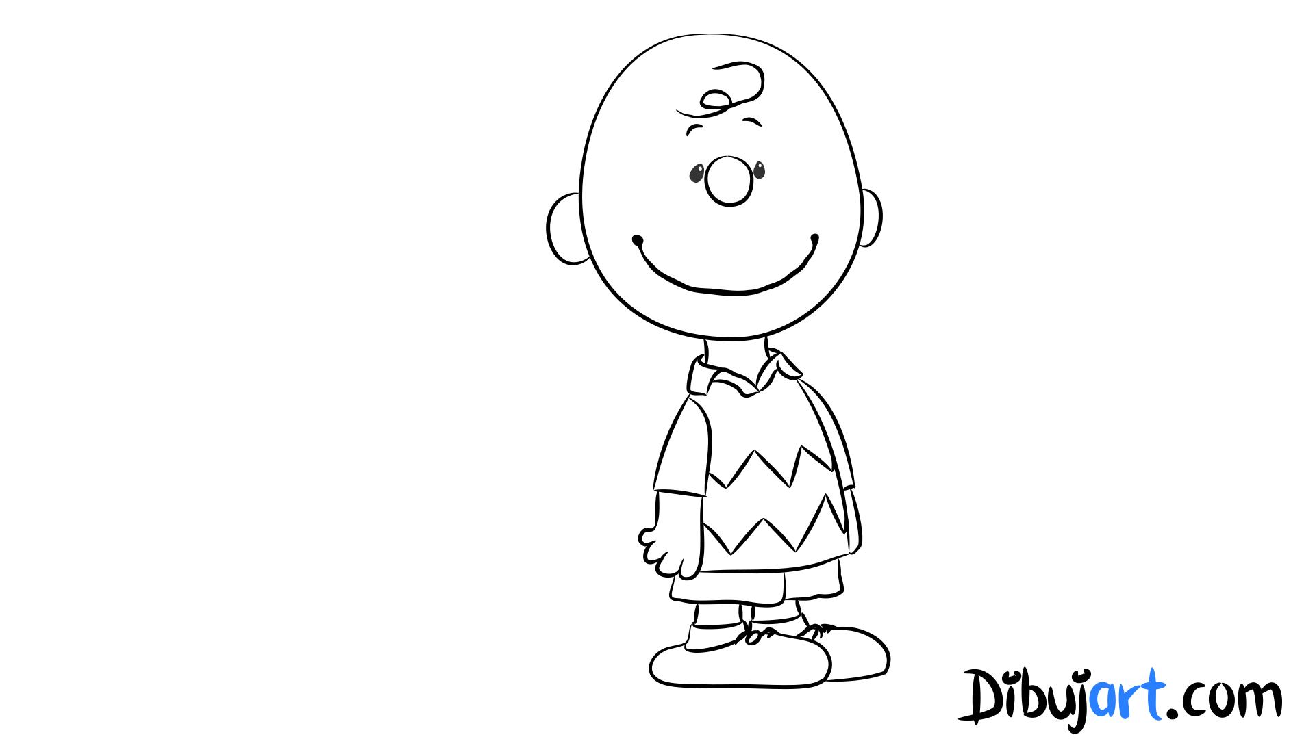 Fantástico Colorear Charlie Brown Motivo - Dibujos Para Colorear En ...